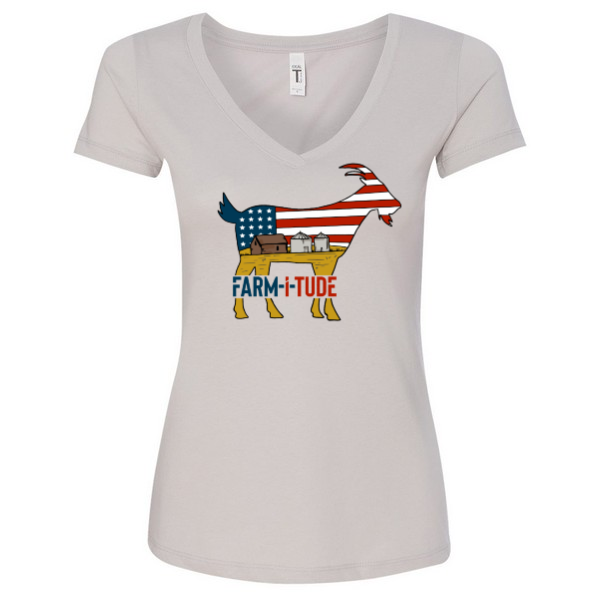 Woman's American Goat Short Sleeve T-Shirt