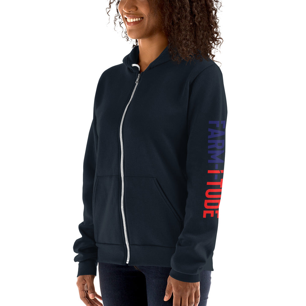 Men/Women's Hoodie Farm-i-tude sweater