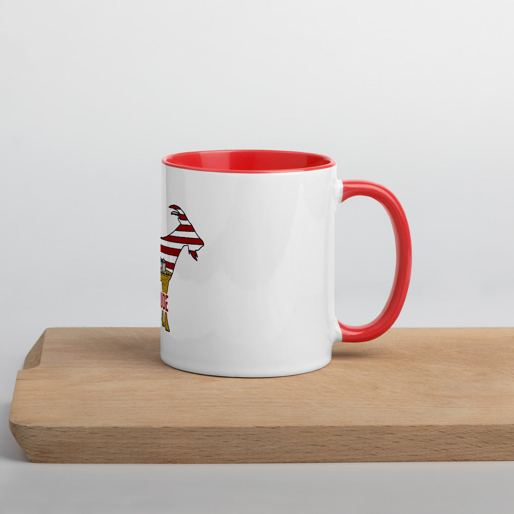 Mug American Goat with Color Inside