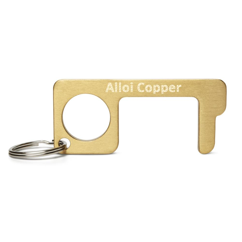 Engraved Brass Touch Tool Alloi