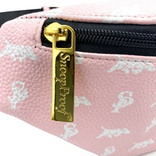 Load image into Gallery viewer, Elusive 2.0 Belt Bag in Pink & White - Smell Proof Belt Bag