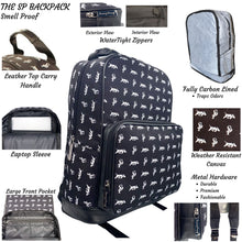 Load image into Gallery viewer, The SP BackPack in Black & White