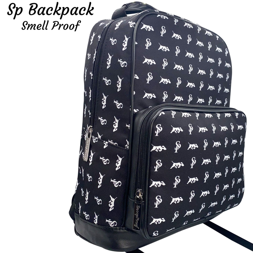 The SP BackPack in Black & White