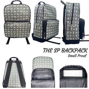The SP BackPack in Grey & White