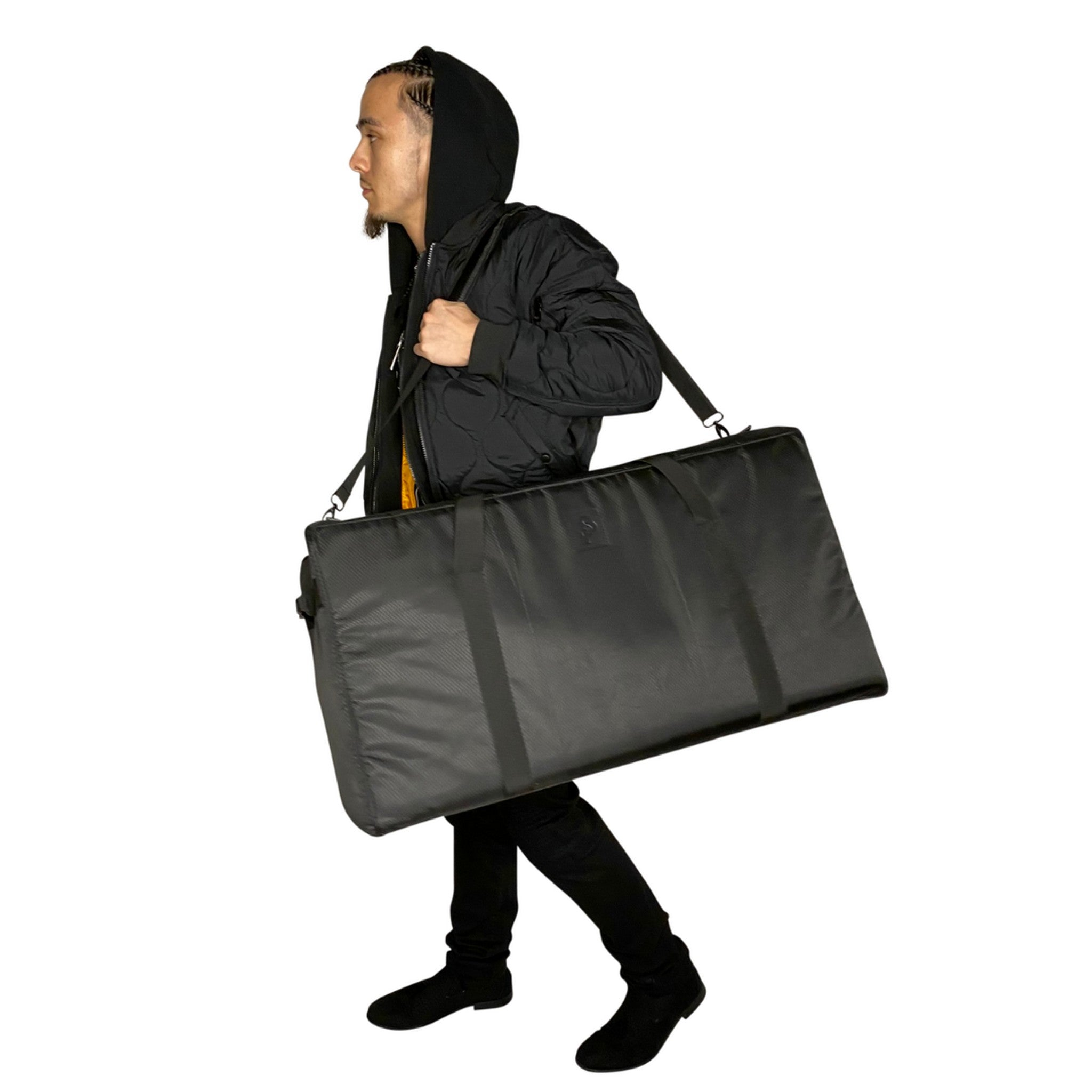 The Trap Duffle (XXL) in Black - Smell Proof Duffle Bag-Duffle Bag-Snoopproofbags