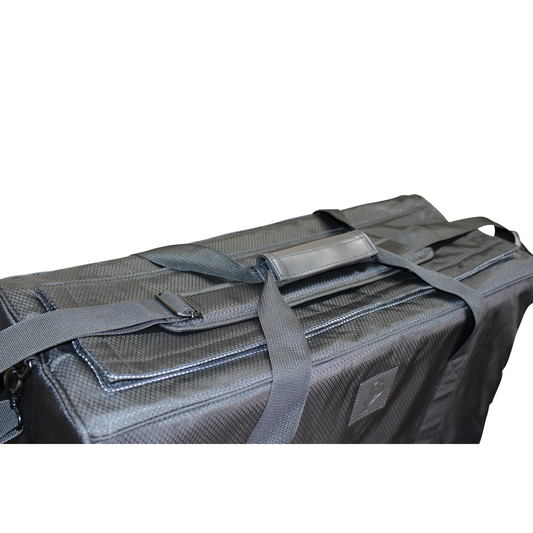 The Trap Duffle (L) in Black - Smell Proof Duffle Bag-Duffle Bag-Snoopproofbags