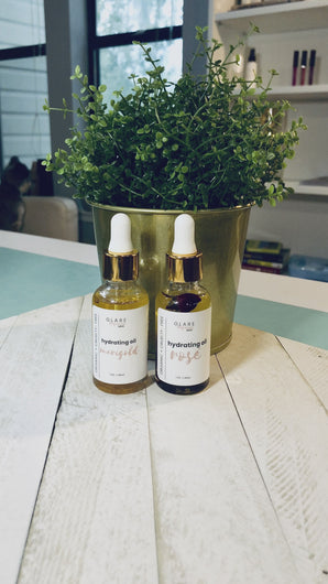 Rosé & Marigold Hydrating Oils 1oz dropper