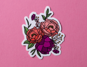 Bouquet Sticker