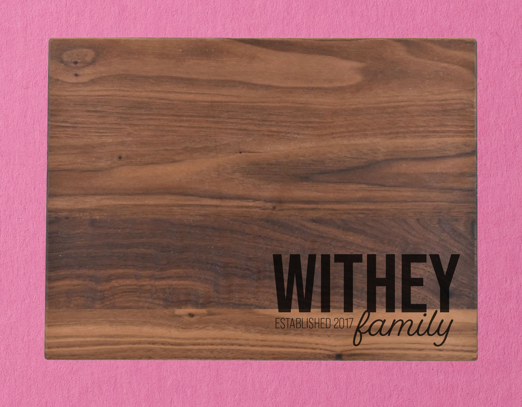 Customized Cutting Board