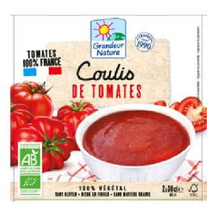 COULIS DE TOMATES 2X30CL