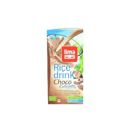 RICE DRINK CHOCO CALCIUM 1L LIMA