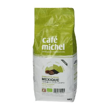 CAFE MEXIQUE GRAINS 500G C.MICHEL