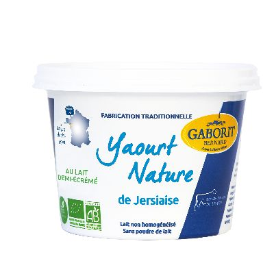 YAOURT NATURE DE JERSIAISE - 500G