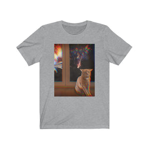 Fireworks Cat Unisex Tee - Limited Stock