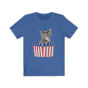 Patriotic Kitten Unisex Tee - Limited Stock