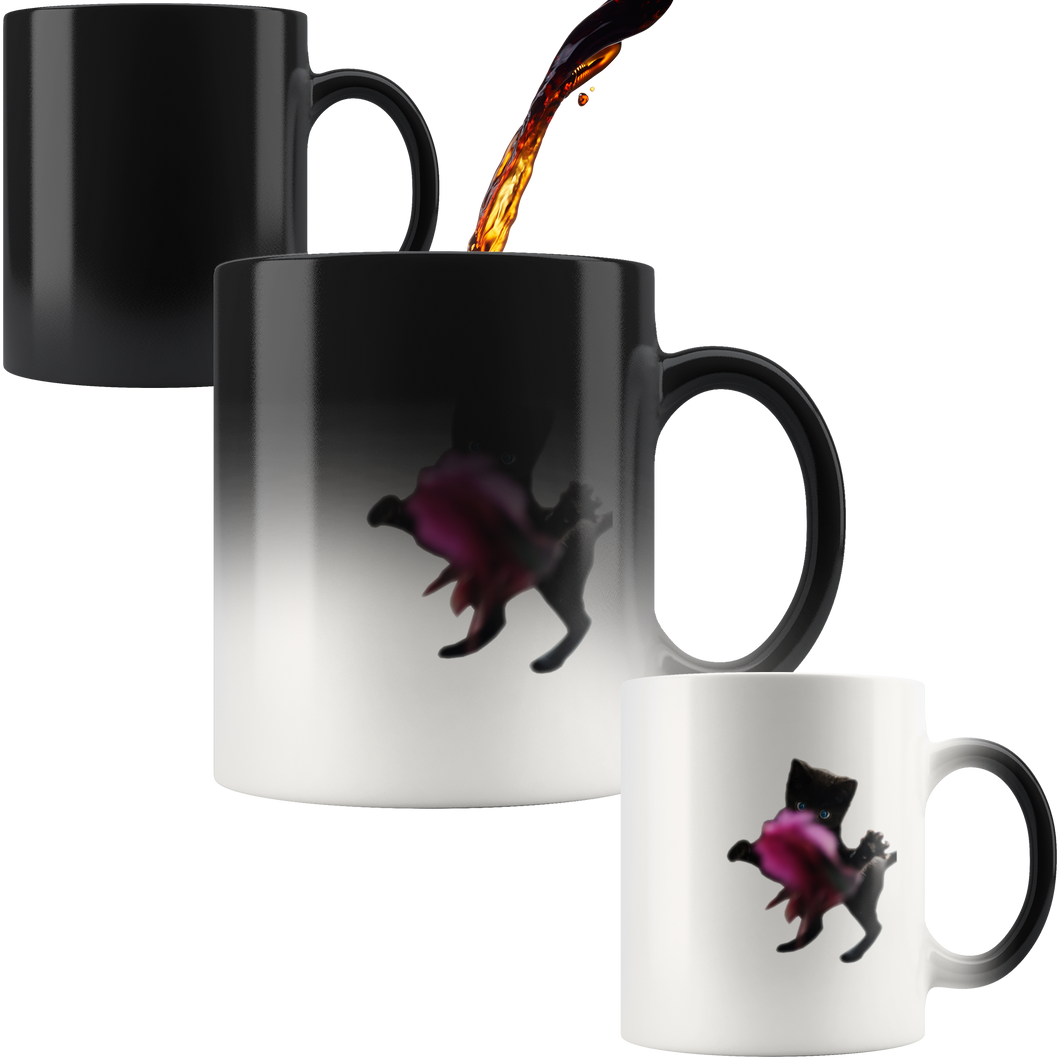Playful Kitten Magic Mug