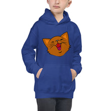 Load image into Gallery viewer, Happy Kitty 2 - Kids Hoodie