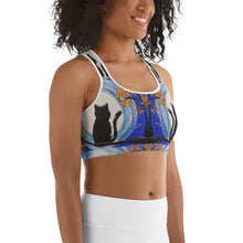 Load image into Gallery viewer, Moonlight Cat Sports bra