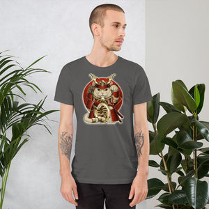 Lucky Cat - Short-Sleeve Unisex T-Shirt