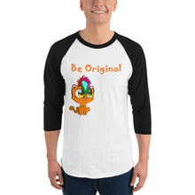 Load image into Gallery viewer, Be Original - Baseball Tee