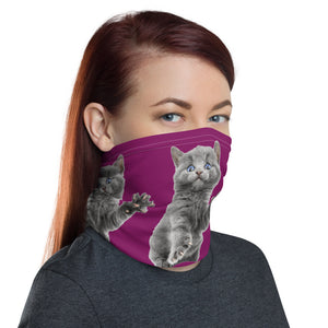 Hold up, wait a minute! Neck Gaiter