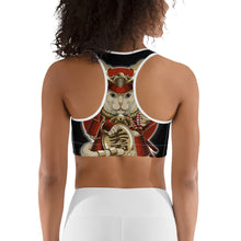 Load image into Gallery viewer, Samurai Cat Sports bra