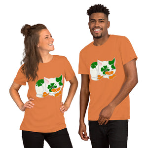 Lucky Kitty Short-Sleeve Unisex T-Shirt