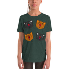 Load image into Gallery viewer, Happy Kittens - Youth Short Sleeve T-Shirt