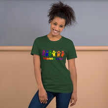 Load image into Gallery viewer, Rainbow Cats - Short-Sleeve Unisex T-Shirt