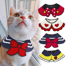 Load image into Gallery viewer, Cat Clothes Costume Pet Cat Puppy Accessories Scarf Collar For Small Dogs Cats Kitten Pets Accessories Mascotas Pet Products
