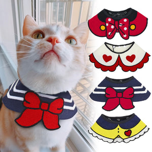 Cat Clothes Costume Pet Cat Puppy Accessories Scarf Collar For Small Dogs Cats Kitten Pets Accessories Mascotas Pet Products