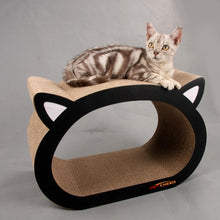 Load image into Gallery viewer, 48X23X32CM Cat Cardboard Scratcher Fat Cat Bed Kitten Scratching Pad