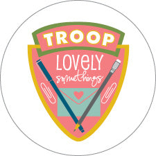 Troop LS Stickers - Small