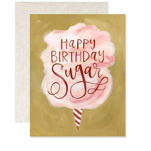Happy Birthday Sugar Card