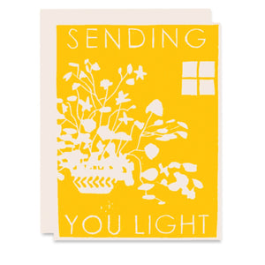 Sending You Light Card