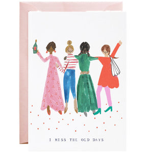 Girlfriends Where are You Card