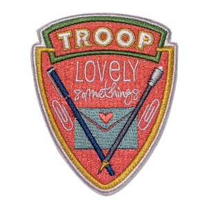 Troop Lovely Somethings Patch