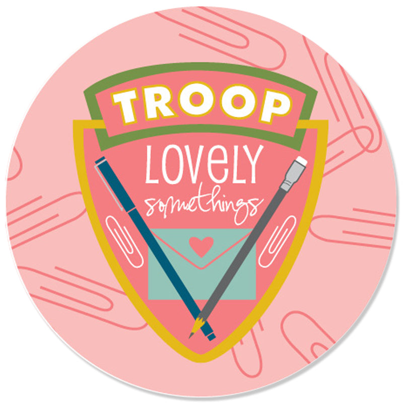 Troop LS Stickers - Large