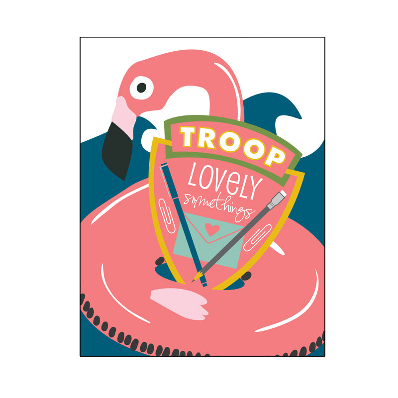 Summer Troop LS Postcard Pack