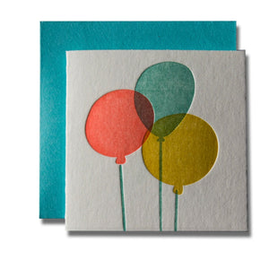 Balloons Tiny Card