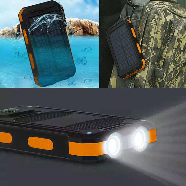 Outdoor Travel Dual USB Port Solar Mobile Phone