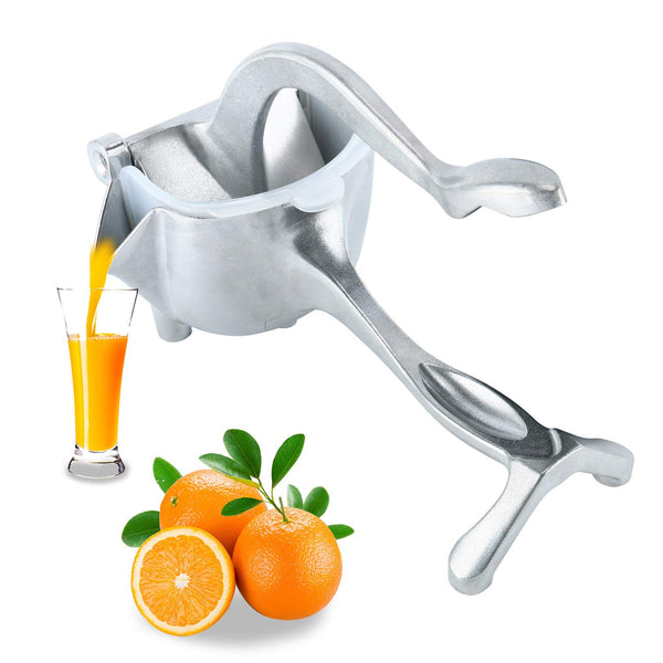 Manual Fruit Juicer Alloy Lemon Squeezer Citrus Press Heavy Duty