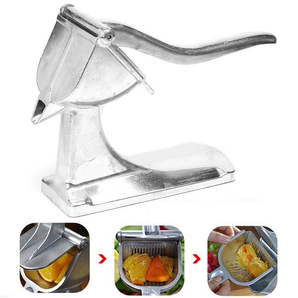 Aluminium Manual Hand Juicer Fruit Squeezer Heavy Duty Orange Lemon
