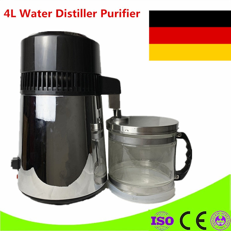 Best Sale 4L Water Distiller Distilled Water Machine