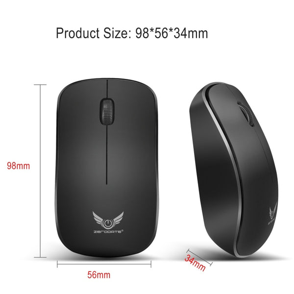 Mini Wireless Bluetooth USB Mouse 2.4Ghz