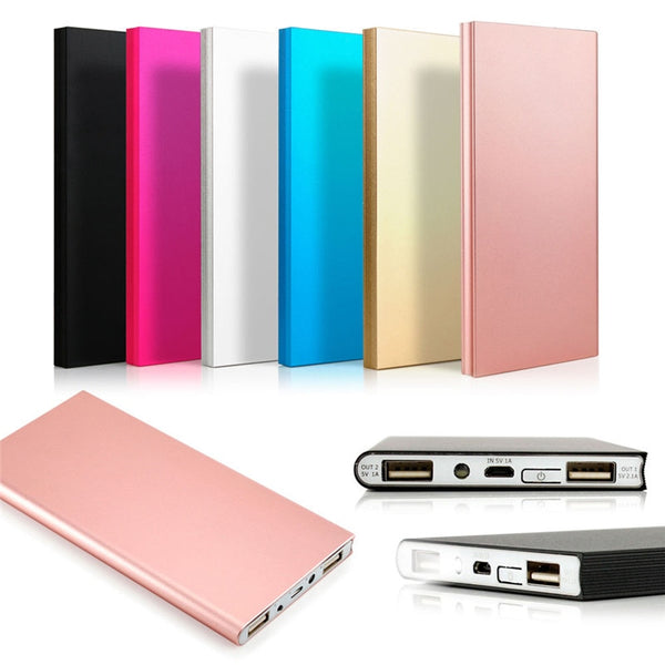 Portable Thin Power Bank 20000mAh