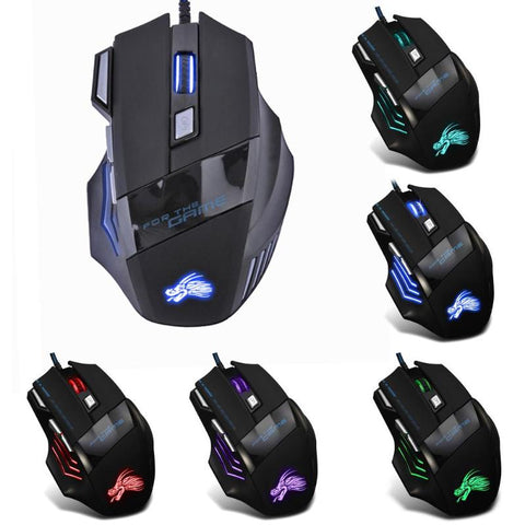 Wired Gaming Mouse Professional 7 Buttons