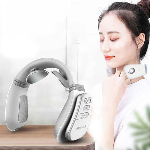 Multifunctional Neck Massager Remote Control Heating Massage