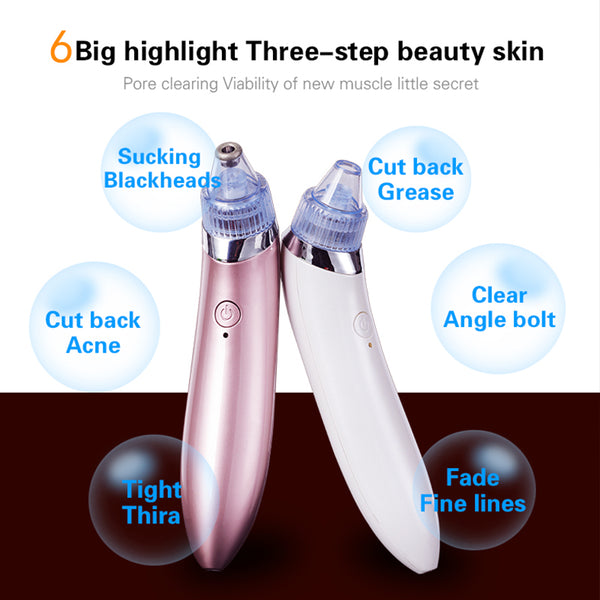 Facial acne blackheads nose clean to remove blackheads electric vacuum cleaner pores