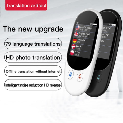 Smart Instant Voice Photo Scanning Translator 2.4 Inch Touch Screen Wifi